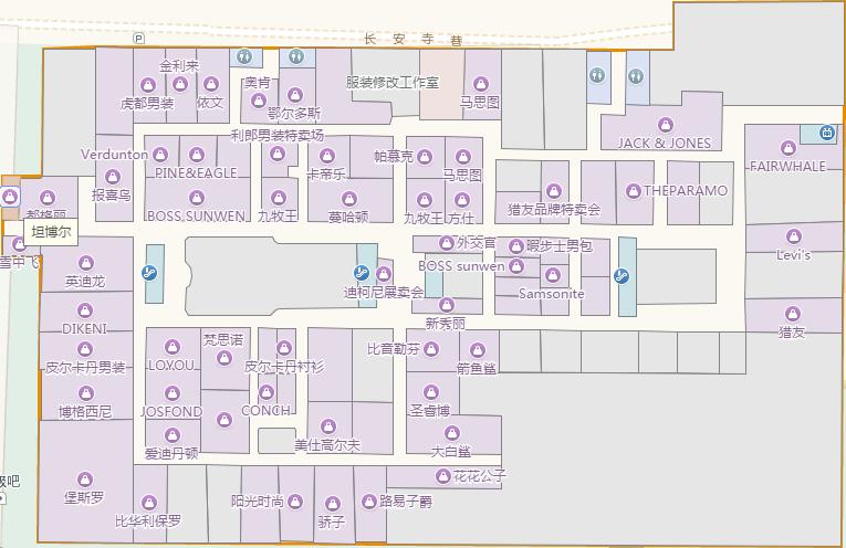 商场电路线路图